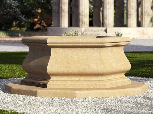 Fontana a pozzo - Grassi Pietre
