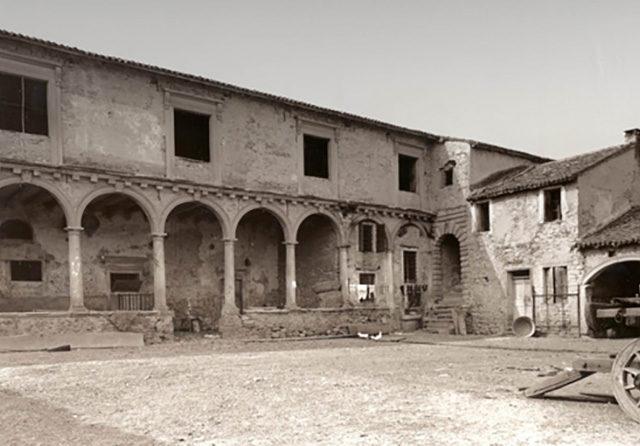 Restauro di Villa Barbaran Muraro a Nanto - Grassi Pietre