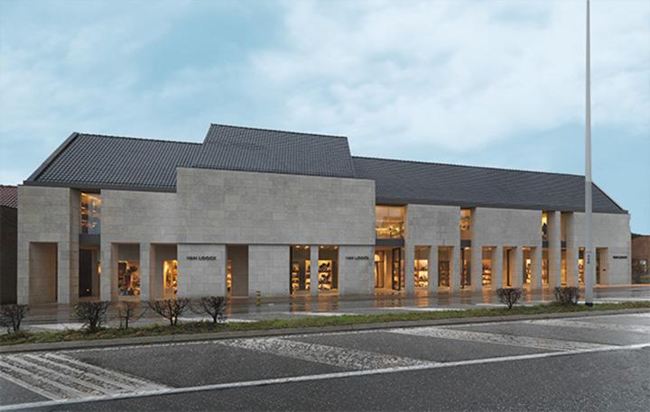 Centro Commerciale Van Loock a Zandhoven - Grassi Pietre