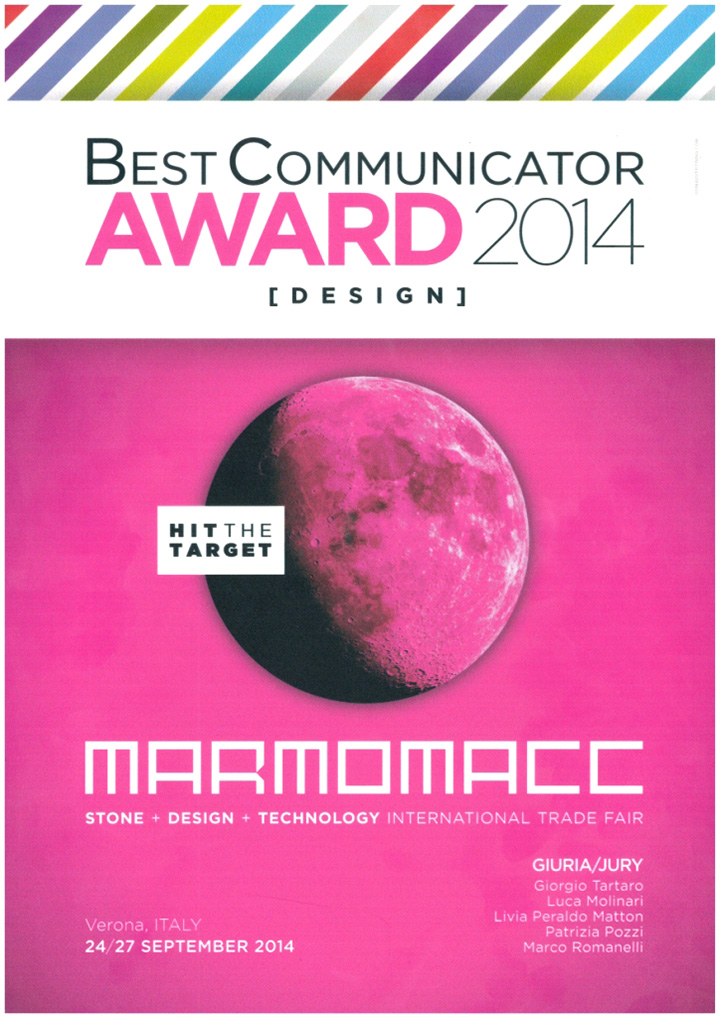 Best Communicator Award 2014 - Grassi Pietre