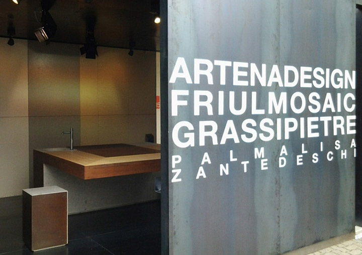 Aldo Peressa - fuorisalone 2014 - Grassi Pietre
