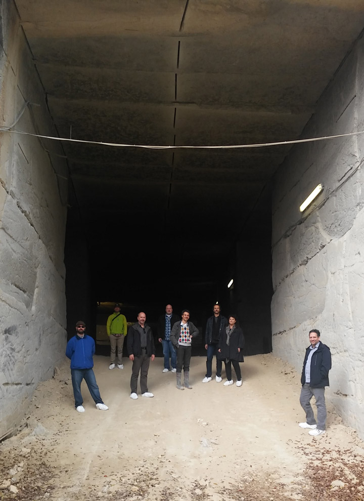 Architetti in visita alla cava Grassi Pietre