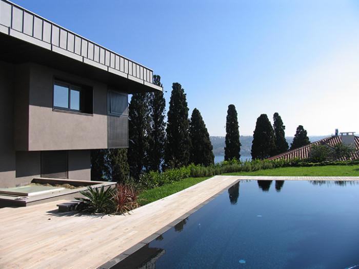 Aldo Cibic - villa privata a Istanbul - Grassi Pietre