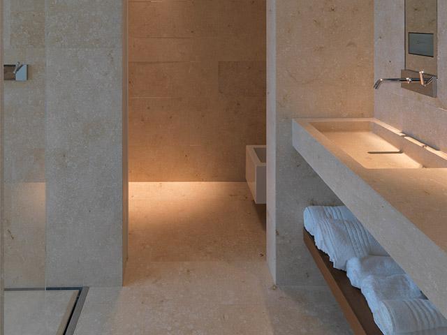 Stone bath elements and SPA - Grassi Pietre